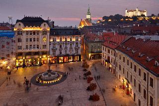 Bratislava in Dunaj
