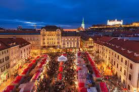 Predbožična Eisenstadt in Bratislava