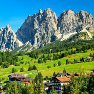 Idilična Tirolska in Dolomiti