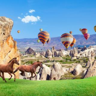 Čarobna Kapadokija in Istanbul