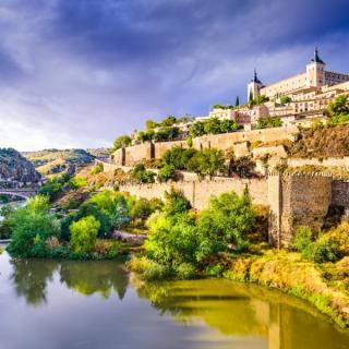Segovia, Salamanca, Toledo in Madrid