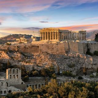 Atene in najlepša antična mesta