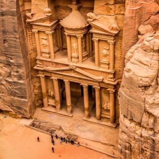 Čudovita Jordanija s posebnim letalom -   6 dni