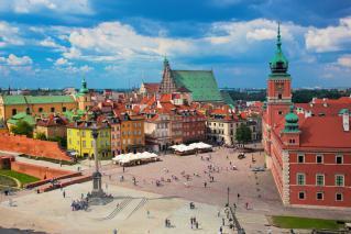 Varšava in Baltske prestolnice