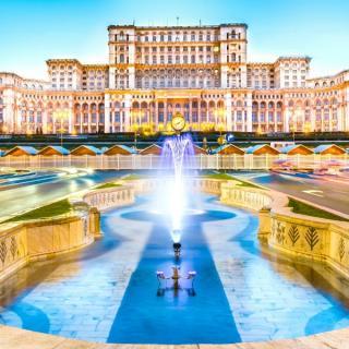 Bukarešta in slikovita mesta Transilvanije