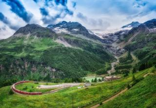 Bernina Express – St. Moritz, Palladijevo mesto Vicenza