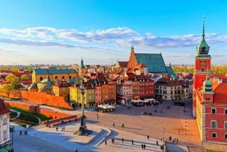 Poljska s svojimi mesti in bogato zgodovino