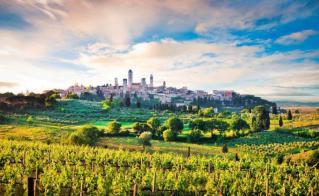 Sončna Toskana – Fiesole, Vinci, San Gimignano
