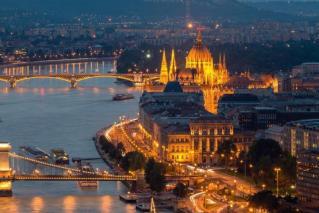 Sladkanje v Budimpešti in na Dunaju