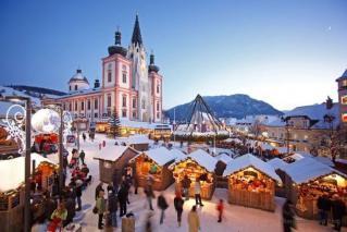 Praznični Mariazell in Graz