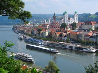 Od Passau-a do Linza po reki Donavi